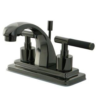 Kingston Brass Water Onyx Centerset Bathroom..