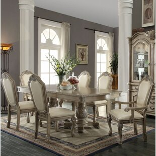 Suzi 7 Pieces Extendable Dining Set