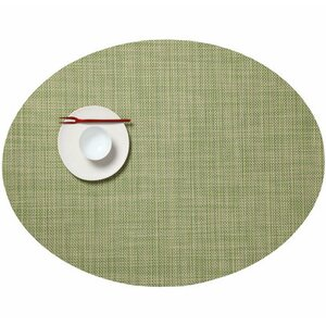 Buy Mini Basketweave Oval Placemat!
