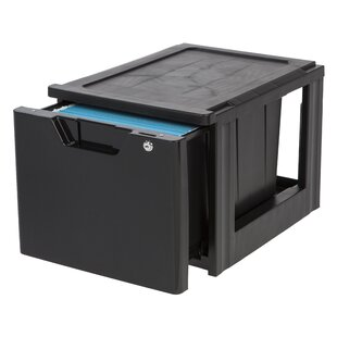 IRIS USA, Inc. 1-Drawer Lateral Filing Cabinet