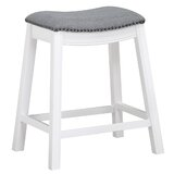 Mora 24.5'' Counter Stool by Longshore Tides