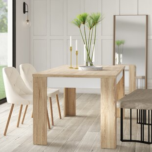 Algedi Dining Table Mercury Row