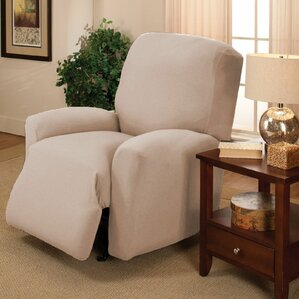 Jersey Box Cushion Recliner Slipcover by Kashi Home