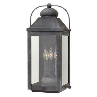 Hinkley Lighting Anchorage 3-Light Outdoor Wall Lantern