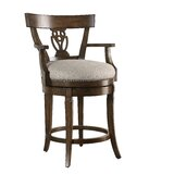 Marionville 25 Swivel Bar Stool by Charlton Home®