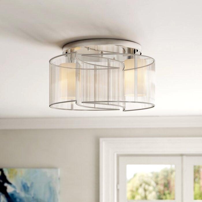 the latest da7a3 b089a 2 Light Flush Ceiling Light