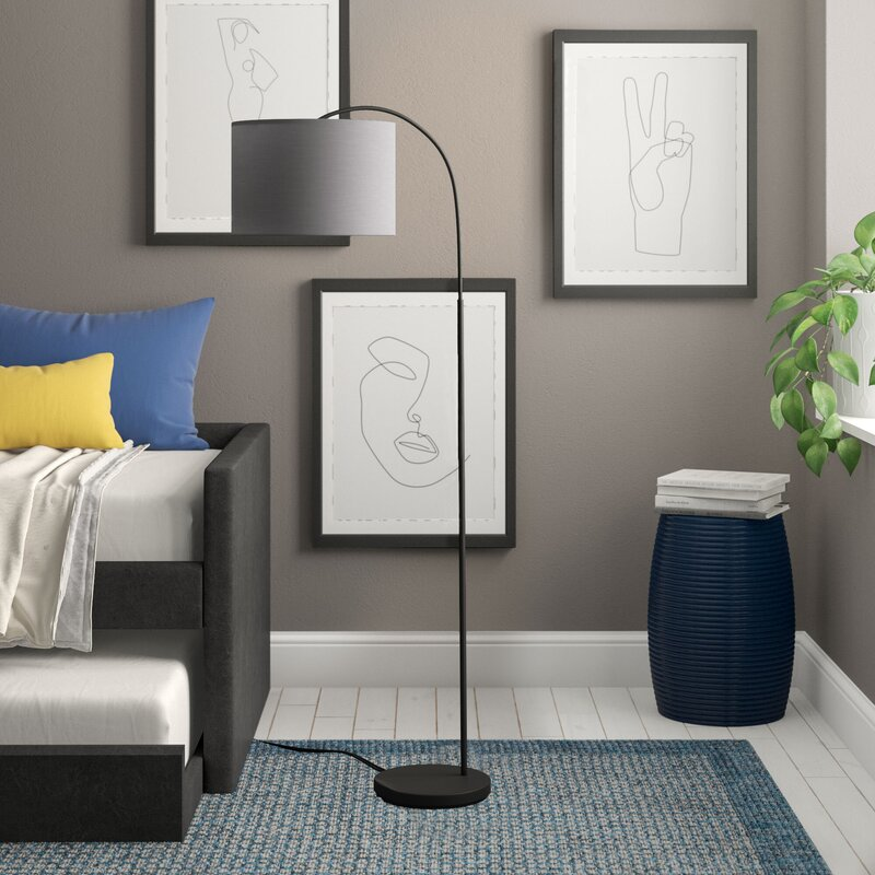 Lucille 10cm Arched Floor Lamp