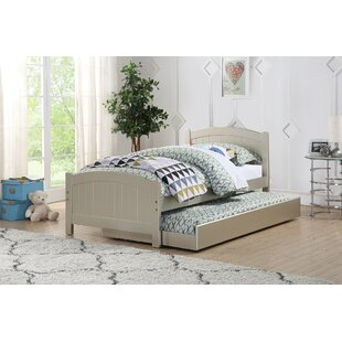 Saucedo Twin Platform Bed with Trundle