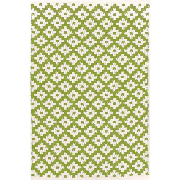 Dash and Albert Rugs Samode Hand Woven Green Indoor/Outdoor Area Rug ...