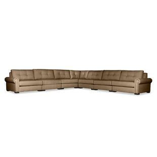 Lebanon Buttoned Right and Left Arms L-Shape Modular Sectional