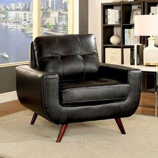 Brayden Studio Horatio Mid-Century Modern Armchair