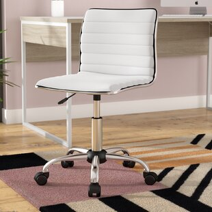 Broadnax Mid-Back Desk Chair by Wade Logan Office Furniture