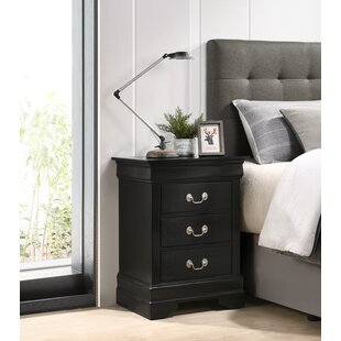 Lisle 3 Drawer Nightstand