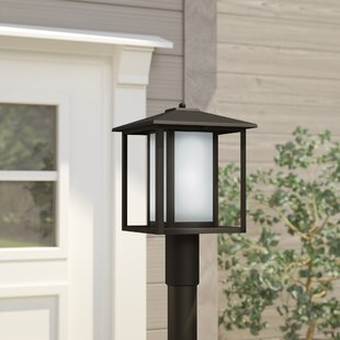 Hayner 1-Light Lantern Head By Three Posts Outdoor Lighting