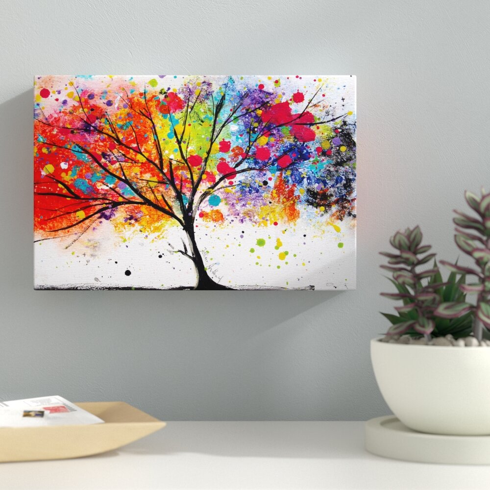 Image result for tree canvas painting
