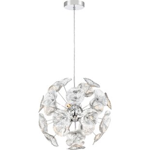 Orren Ellis Evan 6-Light Sputnik Chandelier