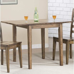 Rutledge Drop Leaf Dining Table Rosecliff Heights