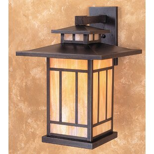 Kennebec 1-Light Outdoor Wall Lantern by Arroyo Craftsman