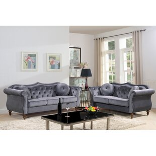 Golding 2 Piece Living Room Set by Mercer41