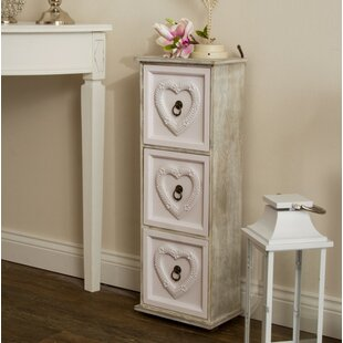 Clinger 3 Drawer Accent Chest By Lily Manor