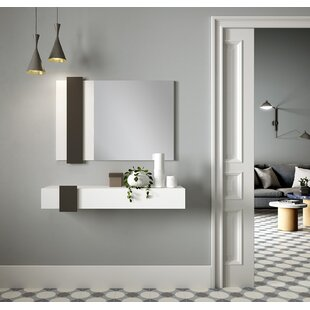 Platte Dressing Table With Mirror By Ebern Designs