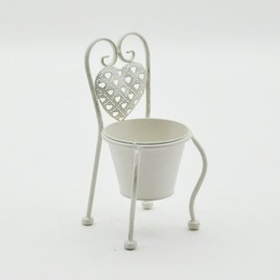 Emmaline Single Metal Cachepot By Lily Manor