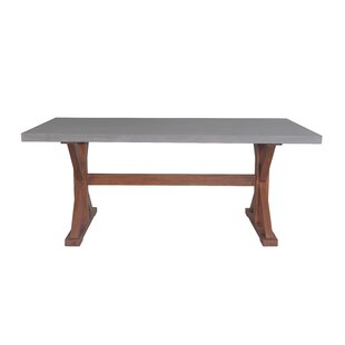 Jacques Wooden Dining Table by Alcott Hill