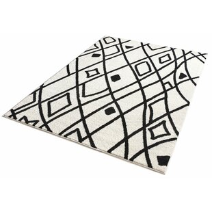 Compare & Buy Honaye Modern Artisan Black/White Area Rug By Bloomsbury Market