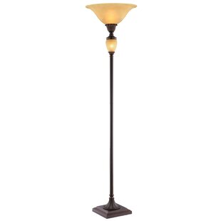 Best Reviews Bafford 71 Torchiere Floor Lamp By Astoria Grand