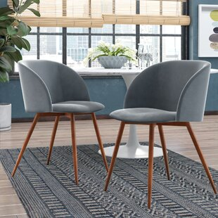 Chu Upholstered Dining Chair (Set Of 2) by Brayden Studio New