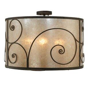 Meyda Tiffany Granada 5-Light Flush Mount