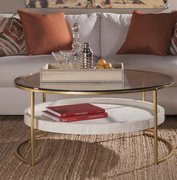 Artistica Frame Coffee Table With Storage Wayfair