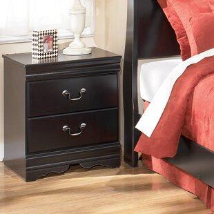 Three Posts Carpenter 2 Drawer Nightstand