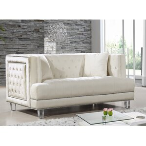 Hettie Chesterfield Loveseat by Willa Arlo I..