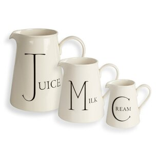 Script Kitchen 3 Piece Jug Set By Fairmont And Main Ltd
