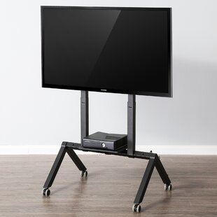 LCD Commercial Display Stand Floor TV Cart Universal Mobile
