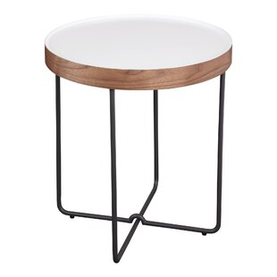 Aiana End Table by Brayden Studio
