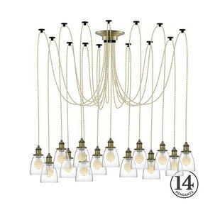17 Stories Ian 14-Light Cluster Pendant