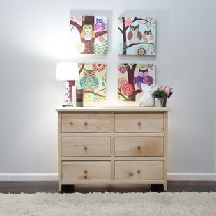 Little Neck 6 Drawer Double Dresser by Gothic Furniture
