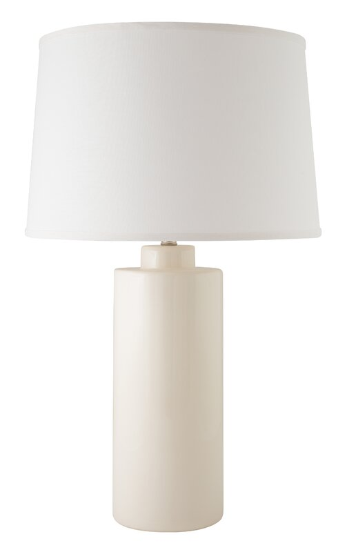 "Cylinder 28"" Table Lamp - Cozy California Farmhouse Style {Home Decor Inspiration}"