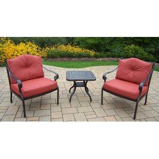 Berkley 3 Piece Conversation Set with Cushions