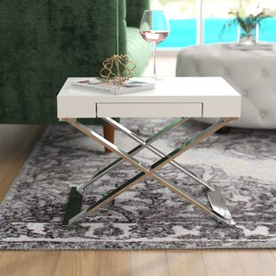 Wade Logan Roreti End Table With Storage