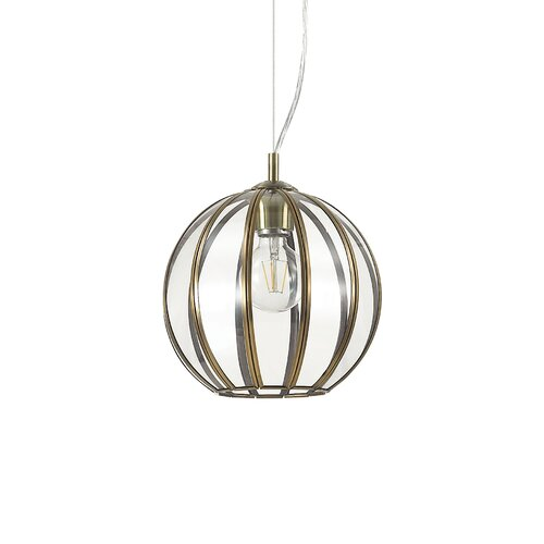 1 - Light Globe Pendant Ideal Lux Size: 41cm H x 25cm W x 25