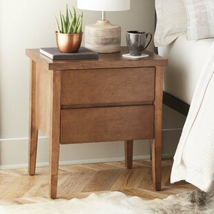 Lysistrate 2 Drawer Nightstand by Brayden Studio