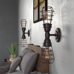 Read Reviews Sharonda 2 Light LED Arm Sconce (Set of 2) By Williston Forge