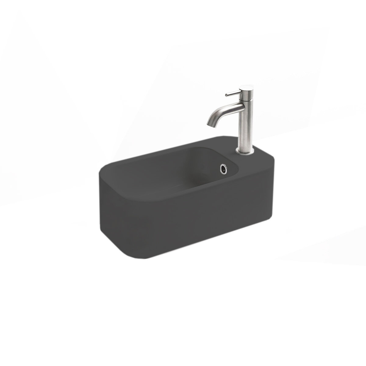 Ws Bath Collections Cosa Ceramic Rectangular Vessel Bathroom Sink With Overflow Perigold