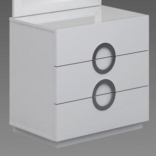 Wade Logan Austin 3 Drawer Standard Dresser