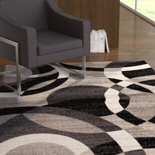 Best Reviews Allison Gray Area Rug By Ebern Designs