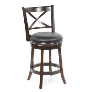 Westerfield 24 Swivel Bar Stool by Charlton Home Great Reviews
