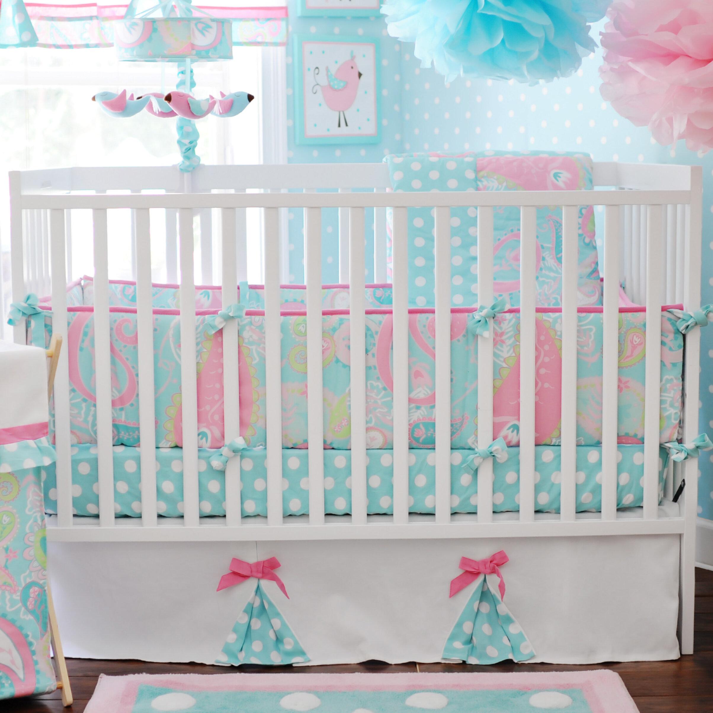 Harriet Bee Suzuki 3 Piece Crib Bedding Set Reviews Wayfair